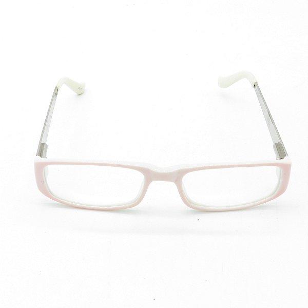 Óculos de Grau Solar Retro Prorider Rosa e Branco - YG8572