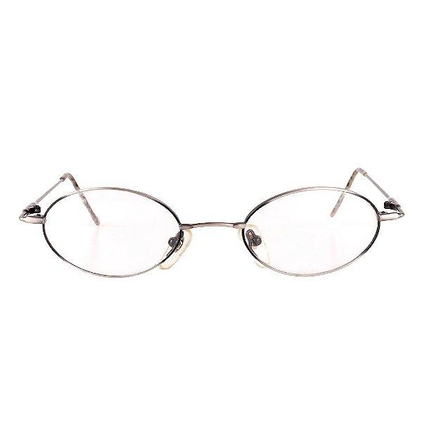 Óculos de Grau Retro Prorider Prata Fosco com Degrade Preto - 003