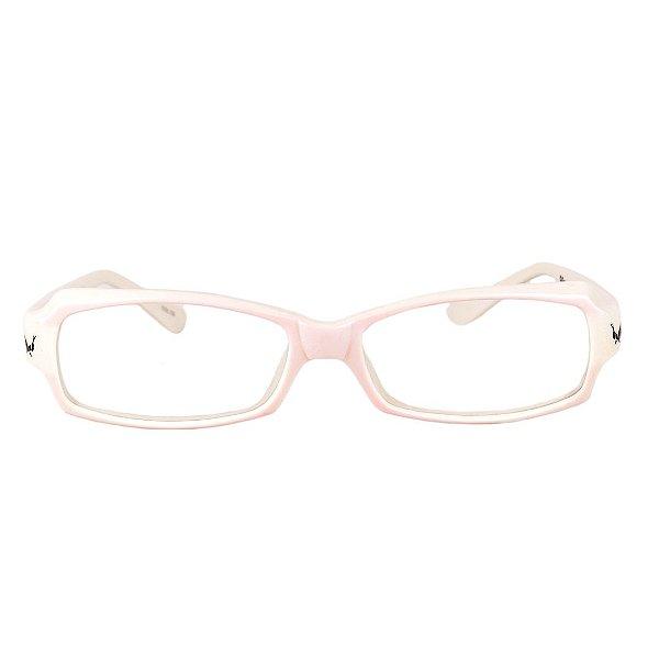 Óculos de Grau Retro Prorider Rosa e Bege - 9Brennan