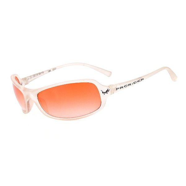 Óculos de Sol Retro Prorider Translúcido com Lente Degrade - 627