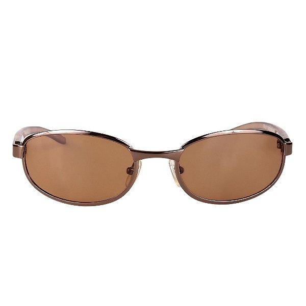 Óculos de Sol Retro Prorider Marrom Claro - 8434