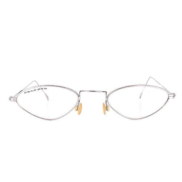 Óculos de Grau Retro Prorider Prata Fosco - VIENNE