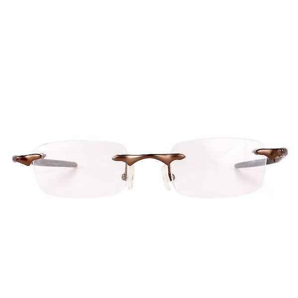 Óculos de Grau Três Peças Retro Prorider Marrom Fosco - M2
