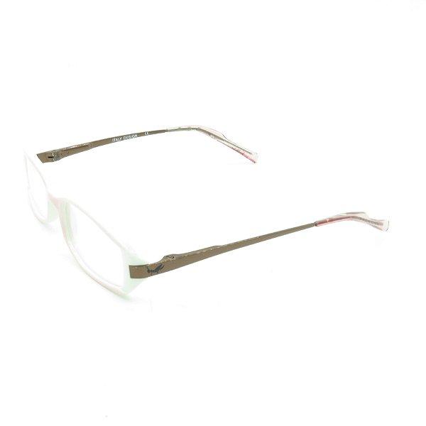Óculos de Grau Retro Prorider Rosa e Branco - SH8882C6