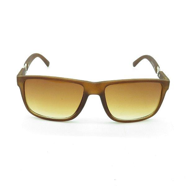 Óculos de Sol Prorider Marrom Fosco com Prata - 1108-1