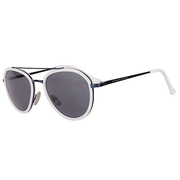 Óculos de Sol Prorider Branco com Azul Metálico - 9882C3