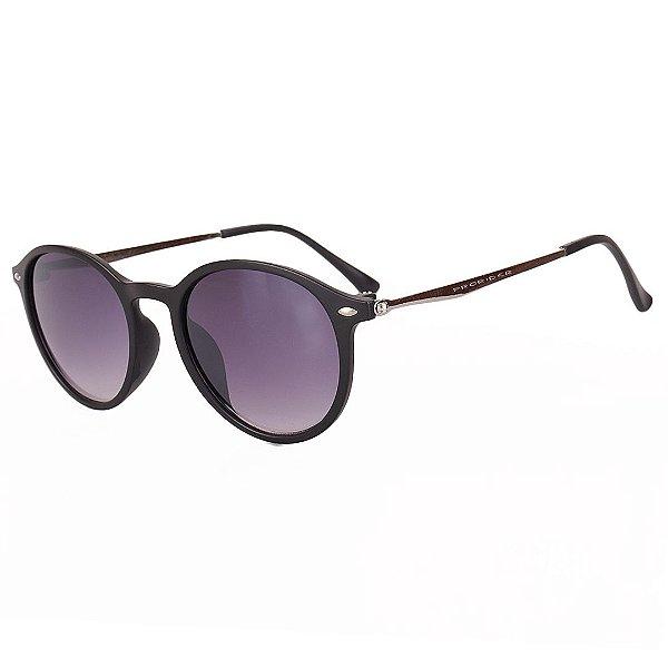Óculos de Sol Prorider Preto Fosco com Prata - 25239