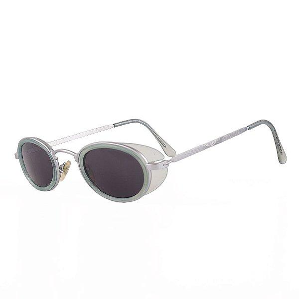 Óculos de Sol Prorider Retro Prata com Verde - BS631