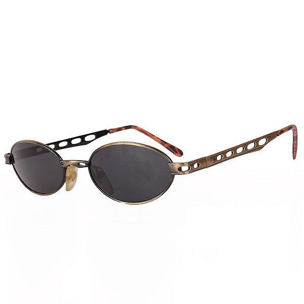 Óculos de Sol Prorider Retro Preto com Dourado - CITERA