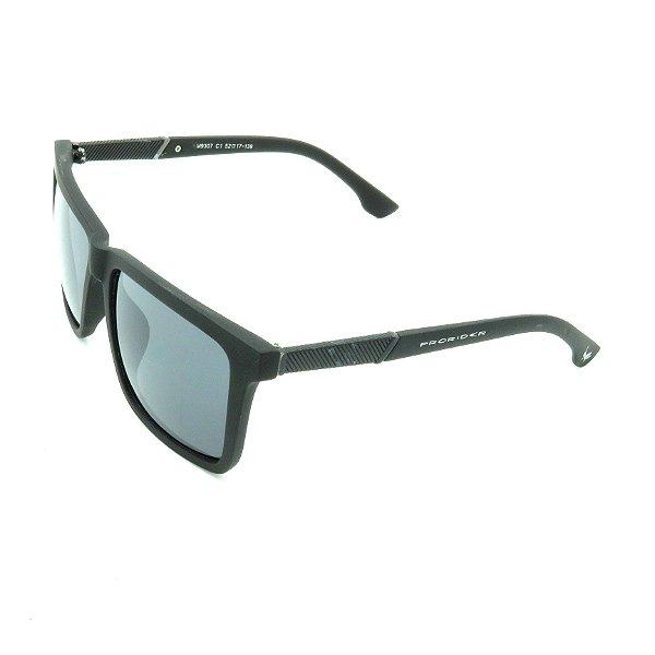 Óculos de Sol Prorider Preto Fosco com Lente Fumê - LM9307C1