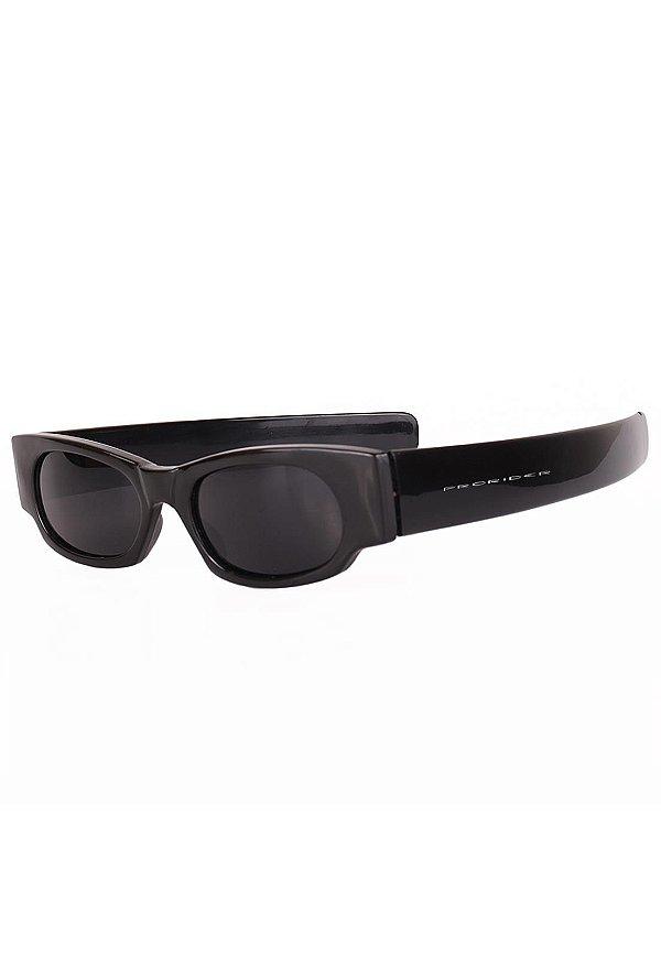 Óculos de Sol Prorider Retro Preto com Lente Fumê - ESQUIRO