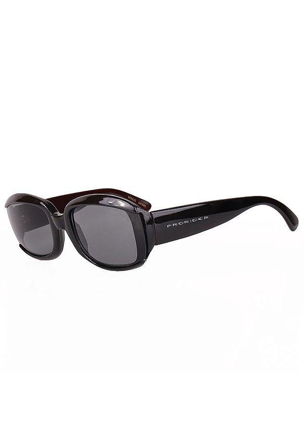 Óculos de Sol Prorider Retro Preto e Marrom - MP885