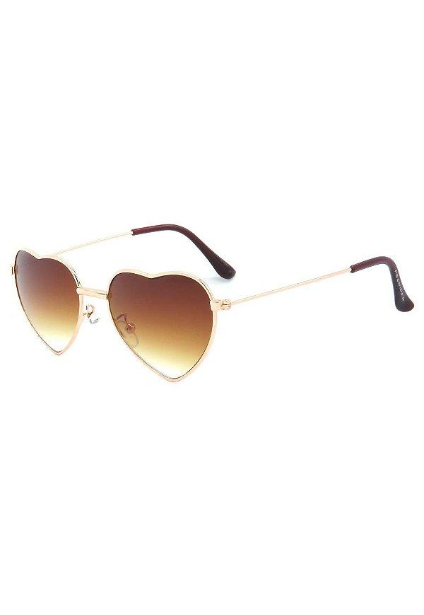 Óculos de Sol Prorider Infantil Aviador Dourado com Lente Degrade - STAGE