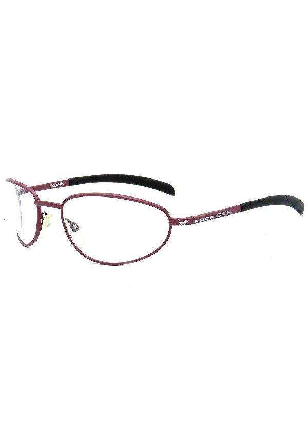 Óculos Receituário Retro Prorider Vermelho Fosco - OCEANIC