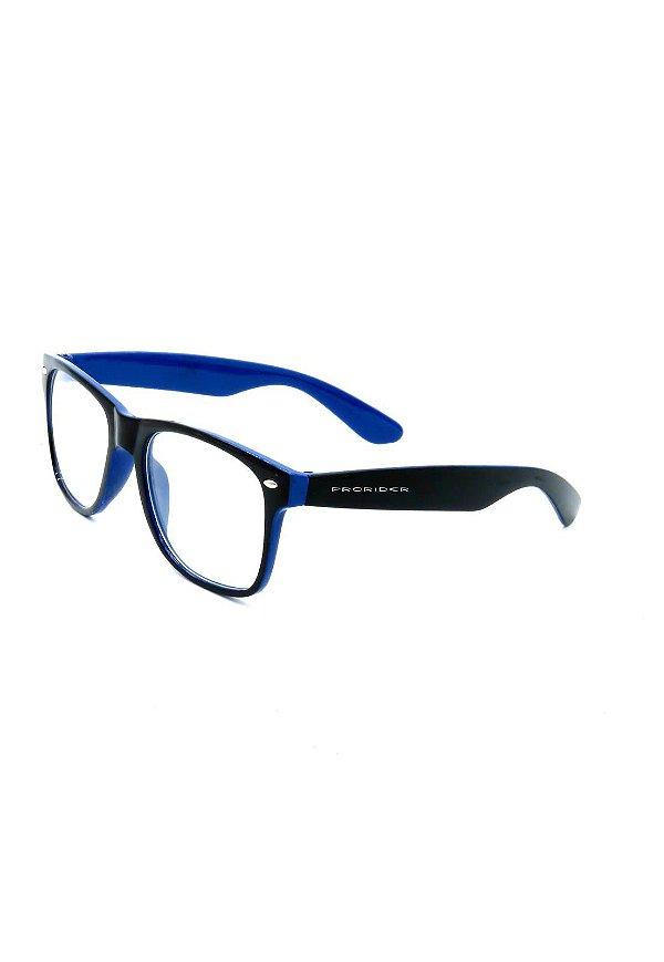 Óculos de Grau Prorider Preto e Azul - Y51