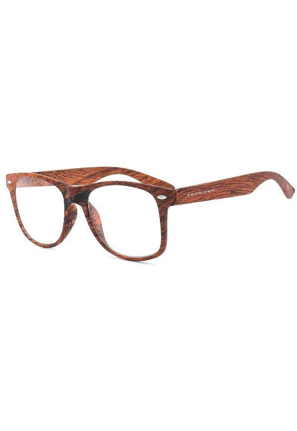 Óculos de Grau Prorider Amadeirado - RELIC