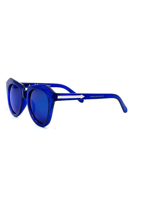 Óculos de Sol Prorider Azul Translúcido com Lente Espelhada - YD1645C3