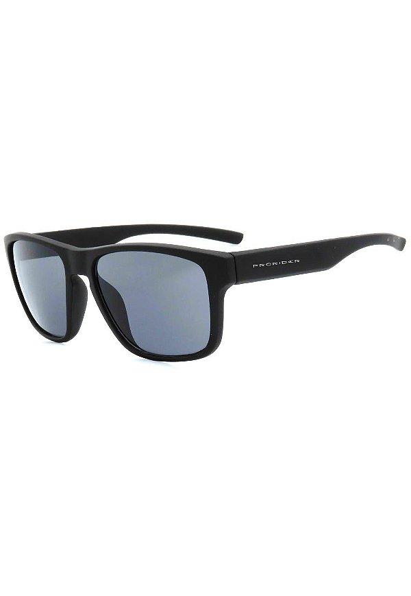 Óculos de Sol Prorider Preto Fosco com Lente Fumê - 2421-1