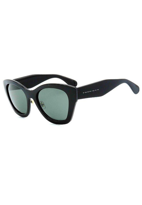 Óculos de Sol Prorider Preto com Lente Verde - 2806C4