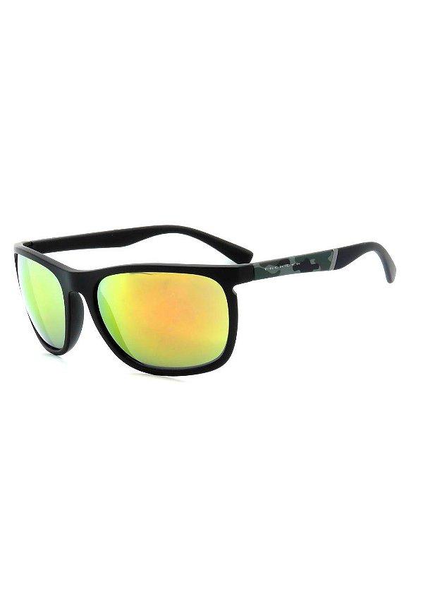 Óculos de Sol Prorider Preto Fosco com Detalhes na Haste - B88-1344