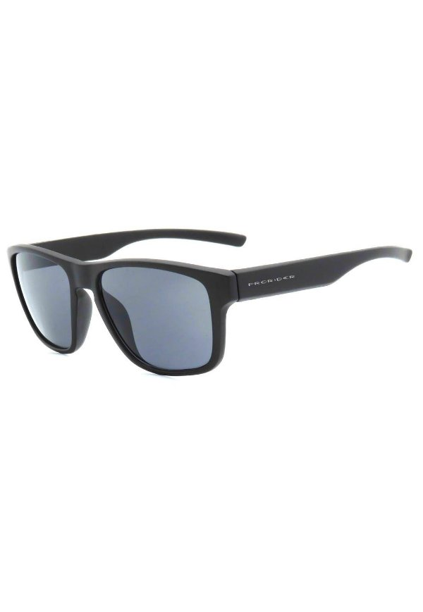Óculos de Sol Prorider Preto Fosco com Lente Fumê - ZM2421-1