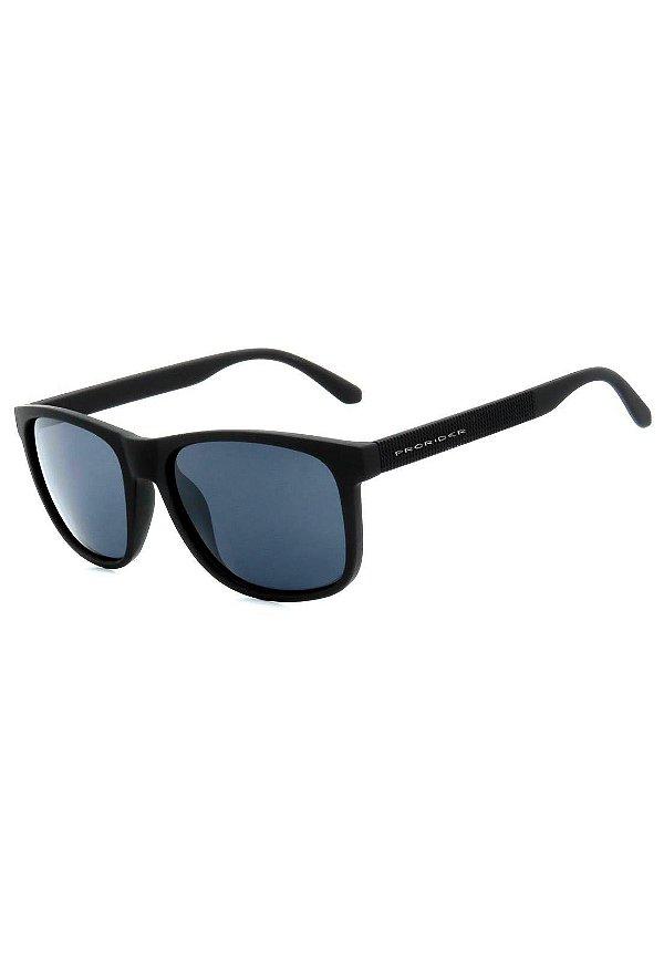 Óculos de Sol Prorider Preto Fosco com Detalhes em Relevo - ZXD17