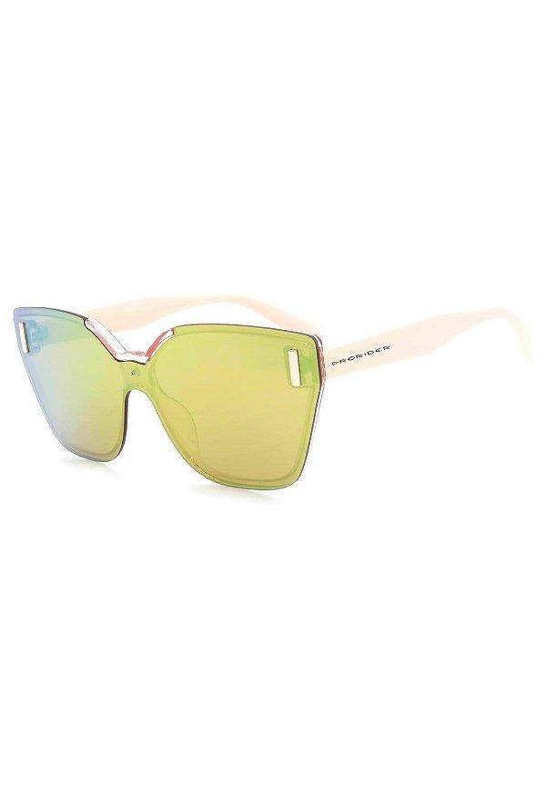 Óculos de Sol Prorider Rosa Claro e Translúcido - B88-1347-1