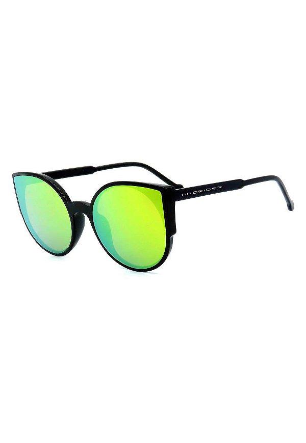 Óculos de Sol Prorider Preto com Lente Espelhada - B88-1341