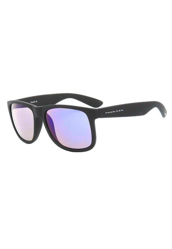 Óculos de Sol Prorider Preto Fosco com Lente Espelhada - 4165-5