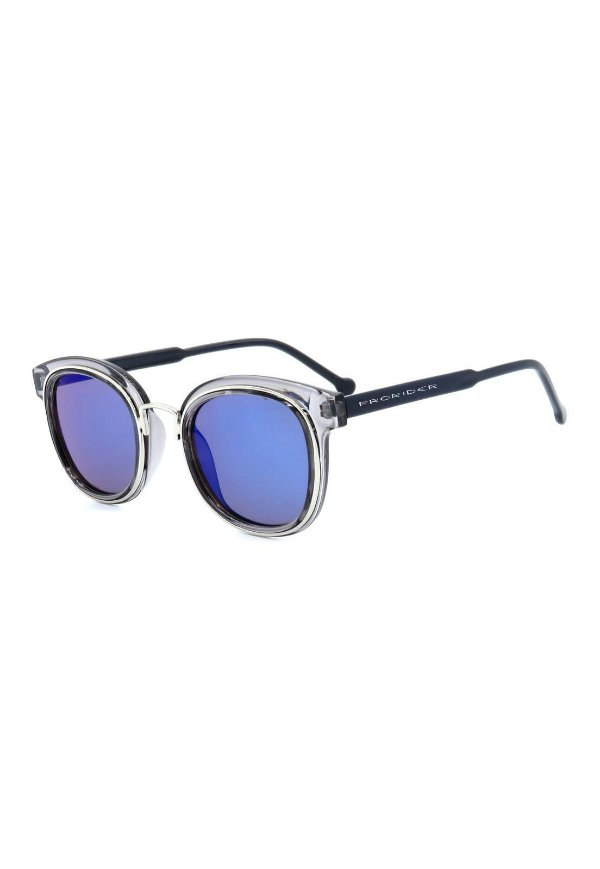 Óculos de Sol Prorider Cinza Translúcido com Prata - B88-1356
