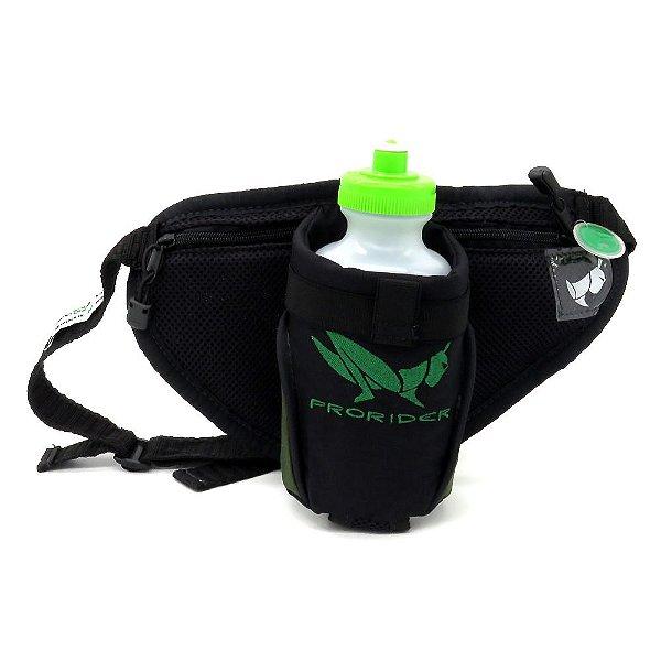 Bolsa Hidratadora preta com detalhe verde - 200903012