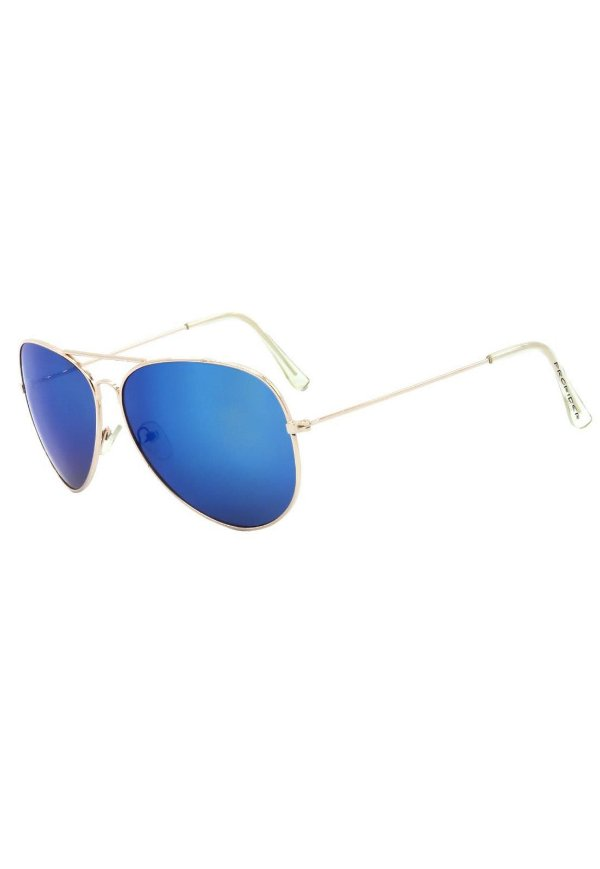 Óculos de Sol Prorider Aviador Dourado Com Lente Espelhada - 3026-3