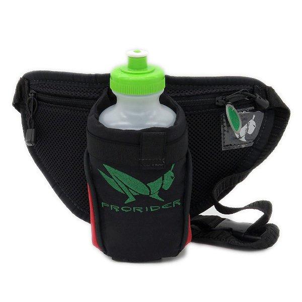 Bolsa Hidratadora preta com detalhe vermelho - 200903014