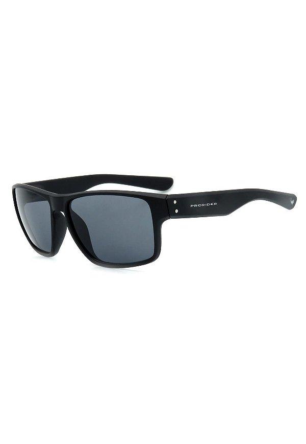 Óculos de Sol Prorider Preto Fosco com Lente Fumê - ZM0773-2