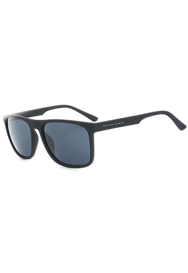 Óculos de Sol Prorider Preto Fosco com Lente Fumê - ZXD21