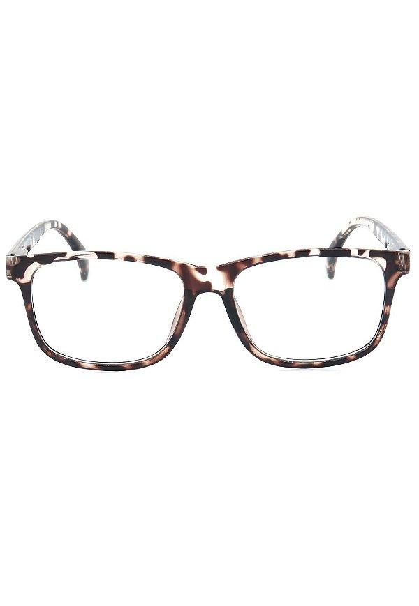 Óculos de Grau Prorider Animal Print Translúcido - GP008