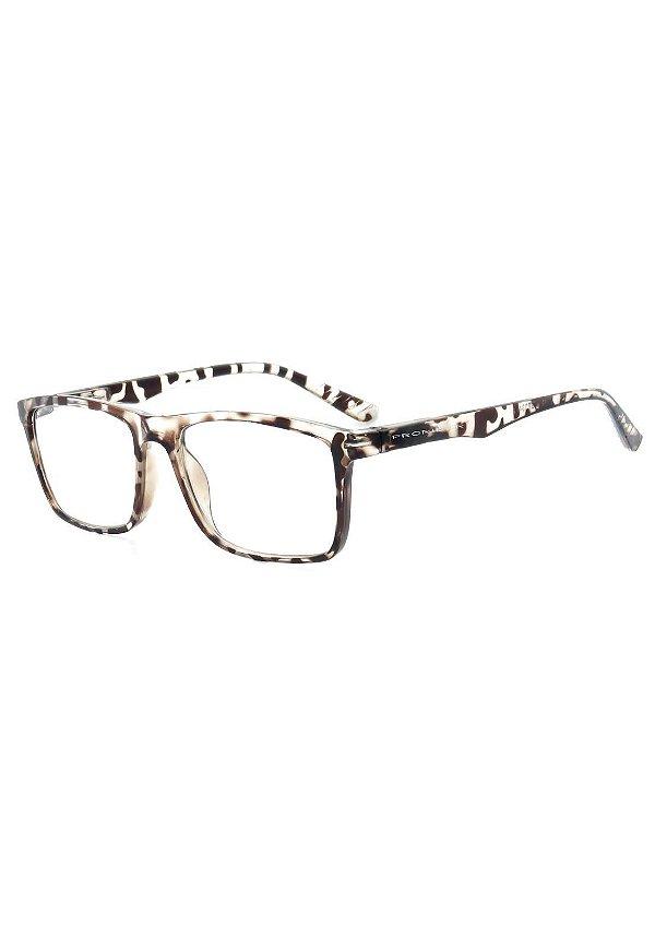 Óculos de Grau Prorider Animal Print Translúcido - GP034