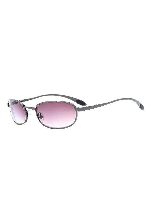 Óculos de Sol Retro Prorider Grafite com Lente Degrade - A2770-1
