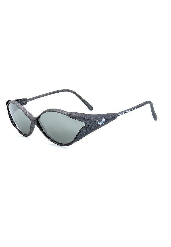 Óculos de Sol Retro Prorider Grafite Fosco com Lente Fumê - MADBAT719