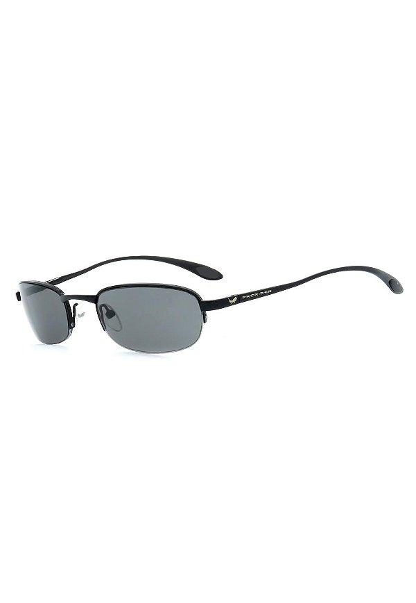 Óculos de Sol Retro Prorider Preto com Lente Fumê - A2770-3