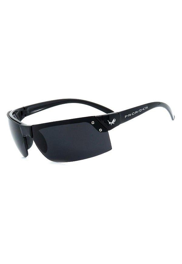 Óculos de Sol Retro Prorider Preto com Lente Fumê - ROAM