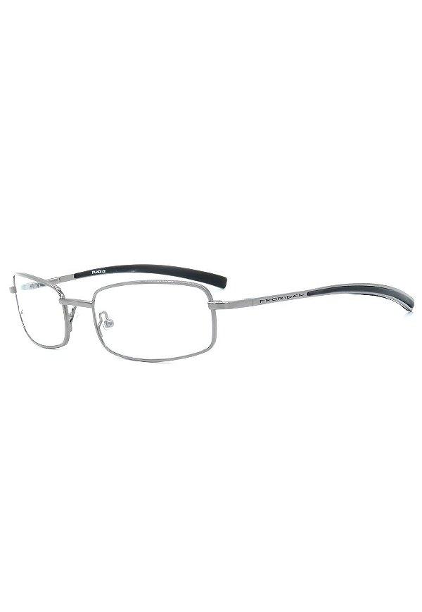 Óculos de Grau Prorider Retro Grafite Claro - ÁDENC03