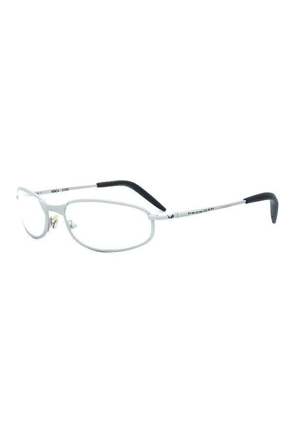 Óculos de Grau Prorider Retro Prata Fosco Claro - HUACAC02