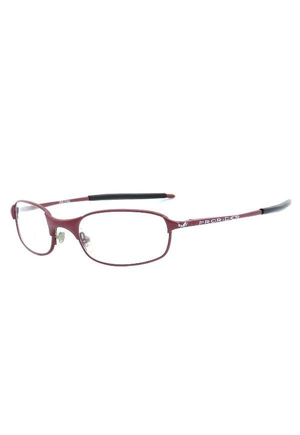 Óculos de Grau Prorider Retro Vermelho Fosco Escuro - VULCON
