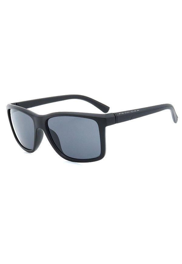 Óculos de Sol Prorider Preto Fosco com Lente Fumê - 2821-2
