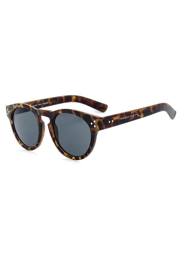 Óculos de Sol Prorider Animal Print Translúcido com Lente Fumê - YD1582C6-1
