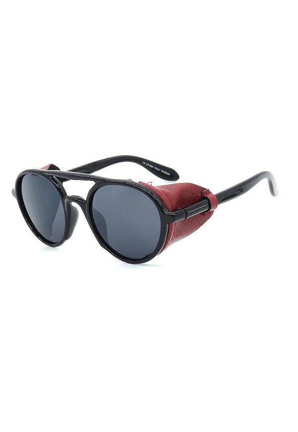 Óculos de Sol Prorider Retro Soldador Preto e Vermelho - YD1978C4
