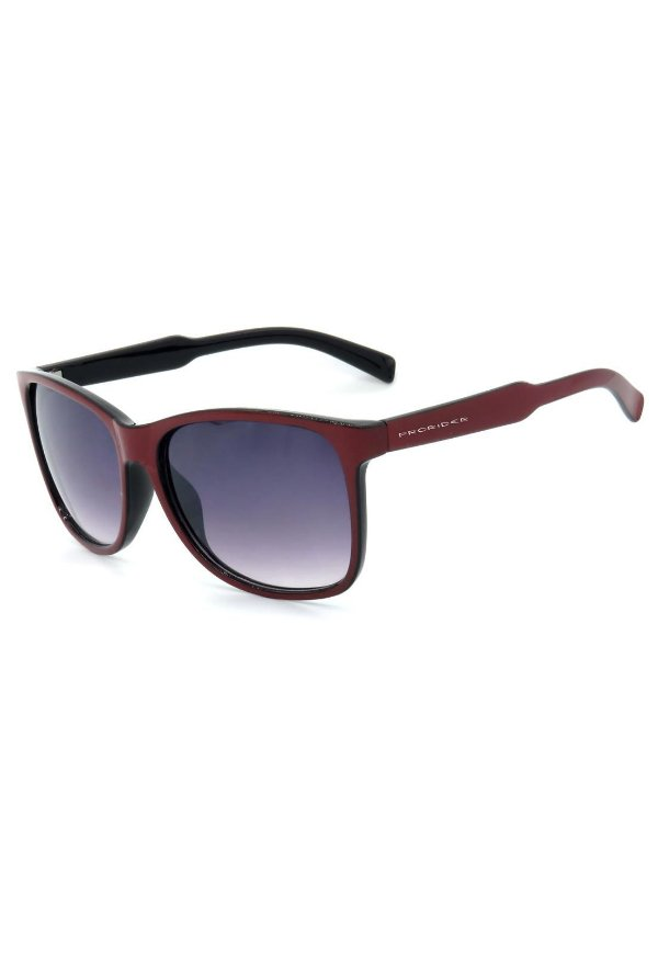 Óculos de Sol Prorider Vermelho e Preto com Lente Degrade - DM-069-1