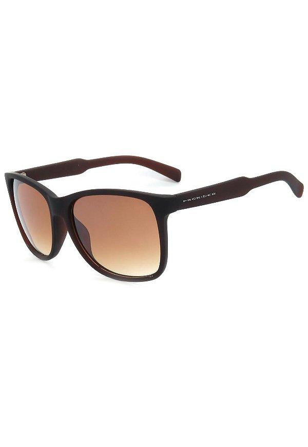 Óculos de Sol Prorider Marrom Fosco com Lente Degrade Marrom - DM-069-2