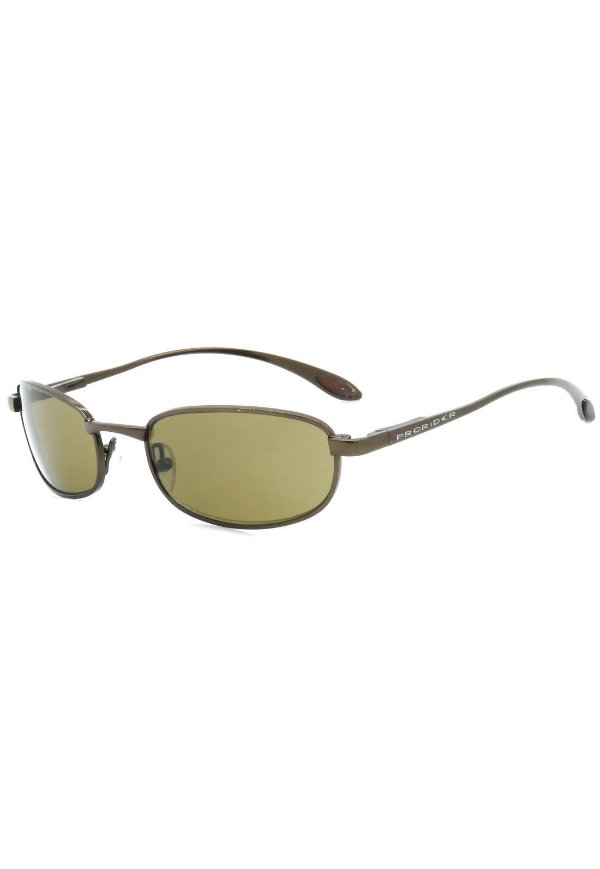 Óculos de Sol Retro Prorider Marrom com Lente Marrom - A2770-4
